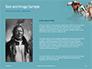 Native American Man Presentation slide 15
