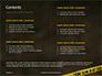 Police Line Tape Presentation slide 2
