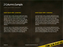 Police Line Tape Presentation slide 5