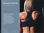 Tattooed Girl Holds Barbell on Her Shoulders Presentation slide 9