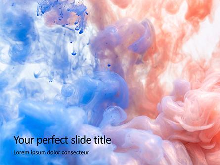 Cloud of Color Presentation Presentation Template, Master Slide