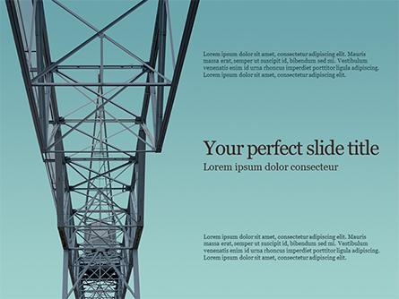 Construction Crane Presentation Presentation Template, Master Slide