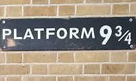 Platform Nine and Three Quarters Presentation Presentation Template