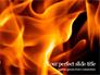 Fire Flames Presentation slide 1