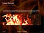 Fire Flames Presentation slide 10
