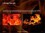 Fire Flames Presentation slide 11