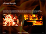 Fire Flames Presentation slide 12