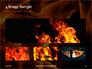 Fire Flames Presentation slide 13