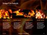 Fire Flames Presentation slide 16