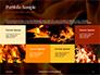 Fire Flames Presentation slide 17