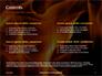 Fire Flames Presentation slide 2