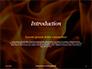Fire Flames Presentation slide 3