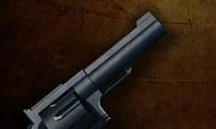 Handgun on Floor with Blood Splatters Presentation Presentation Template