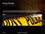 Handgun on Floor with Blood Splatters Presentation slide 10