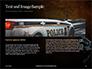 Handgun on Floor with Blood Splatters Presentation slide 14