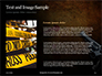 Handgun on Floor with Blood Splatters Presentation slide 15
