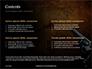 Handgun on Floor with Blood Splatters Presentation slide 2