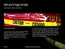 Caution Tape in Darkness Presentation slide 14