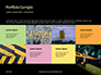 Caution Tape in Darkness Presentation slide 17