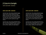 Caution Tape in Darkness Presentation slide 5