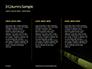 Caution Tape in Darkness Presentation slide 6
