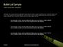 Caution Tape in Darkness Presentation slide 7