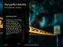 Caution Tape in Darkness Presentation slide 9