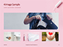 Sanitary Pad Menstrual Cup Tampon and Red Heart Presentation slide 13