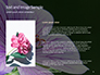 Violet Malva Flower Closeup Presentation slide 15