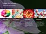 Violet Malva Flower Closeup Presentation slide 16