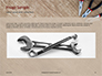 Pliers and Wire Cutters on Wooden Fool Presentation slide 10