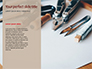 Pliers and Wire Cutters on Wooden Fool Presentation slide 9