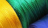 Sewing Threads Multicolored Closeup Presentation Presentation Template