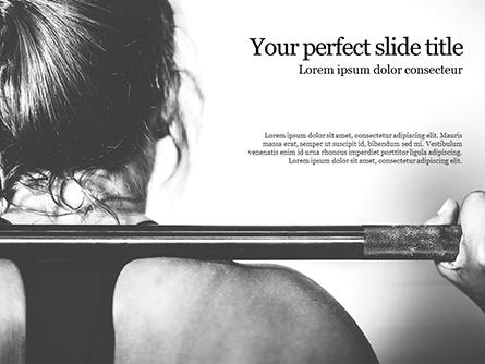 Strong Woman Presentation Presentation Template, Master Slide