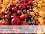 Colorful Bell Sweet Pepper Presentation slide 1