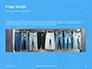Jeans Texture Background Presentation slide 10