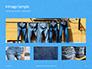 Jeans Texture Background Presentation slide 13