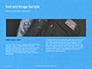 Jeans Texture Background Presentation slide 14