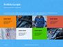 Jeans Texture Background Presentation slide 17