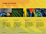 Colorful Background of Parrot Bird Feathers Presentation slide 16