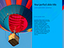 Colorful Hot Air Balloon in Blue Sky Presentation slide 9