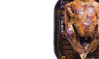 Thanksgiving Oven Whole Roasted Turkey Presentation Presentation Template