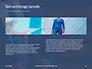 Businessman in Suit Against Wooden Wall Presentation slide 14