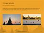 Hot Air Balloons over Ancient Pagoda in Bagan Presentation slide 12