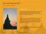Hot Air Balloons over Ancient Pagoda in Bagan Presentation slide 15