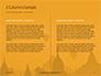 Hot Air Balloons over Ancient Pagoda in Bagan Presentation slide 5