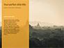 Hot Air Balloons over Ancient Pagoda in Bagan Presentation slide 9