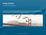Aerial View of Suspension Bridge Presentation slide 10
