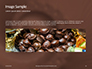 Abstract Melted Chocolate Swirl Background Presentation slide 10