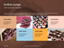 Abstract Melted Chocolate Swirl Background Presentation slide 17